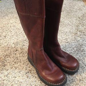 Eddie Bauer Brown Leather Boots